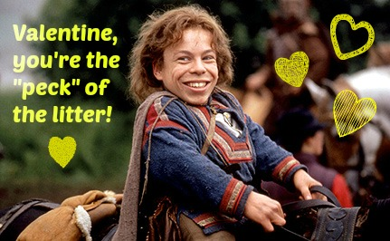 willow, valentine, warwick davis